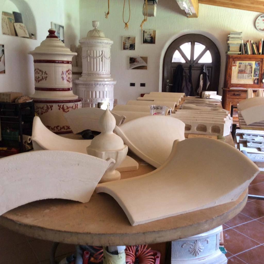 Stufe elettriche in ceramica Stufe Collizzolli made in Italy