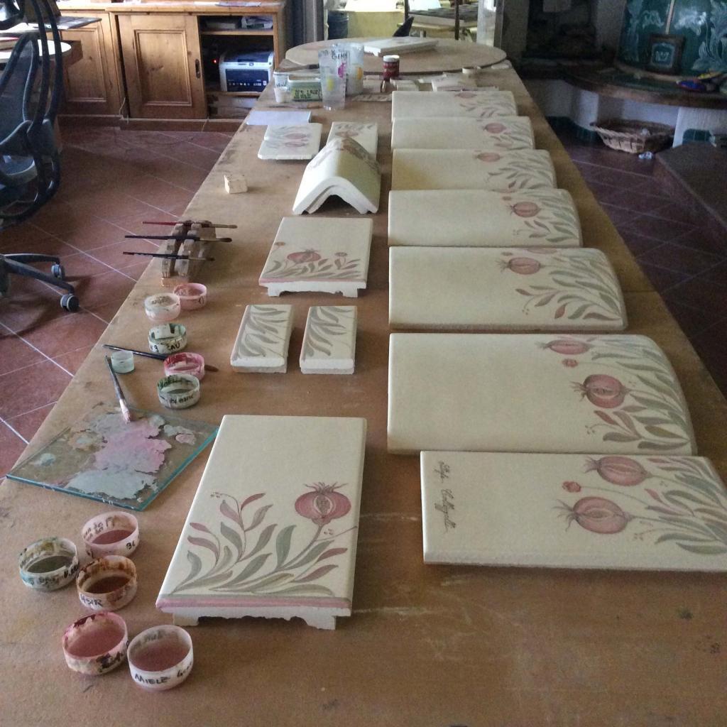 Stufe in stile austriaco stufe in ceramica Stufe Collizzolli