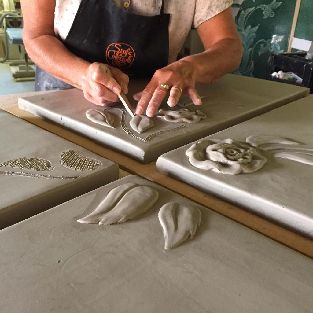 Stufe Collizzolli, Stufe in maiolica fatte a mano e stufe personalizzate