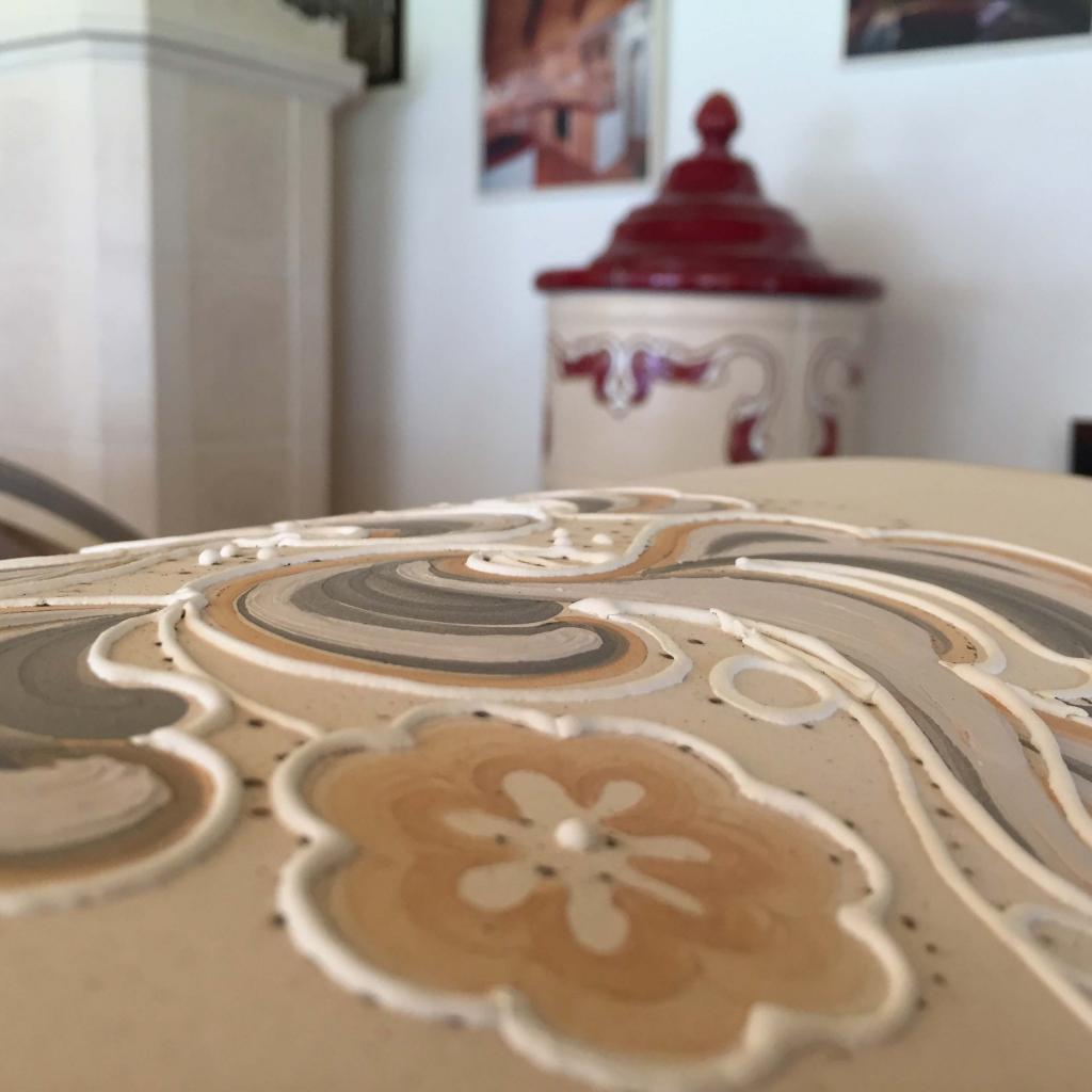 Stufe personalizzate e fatte a mano stufe in ceramica Collizzolli