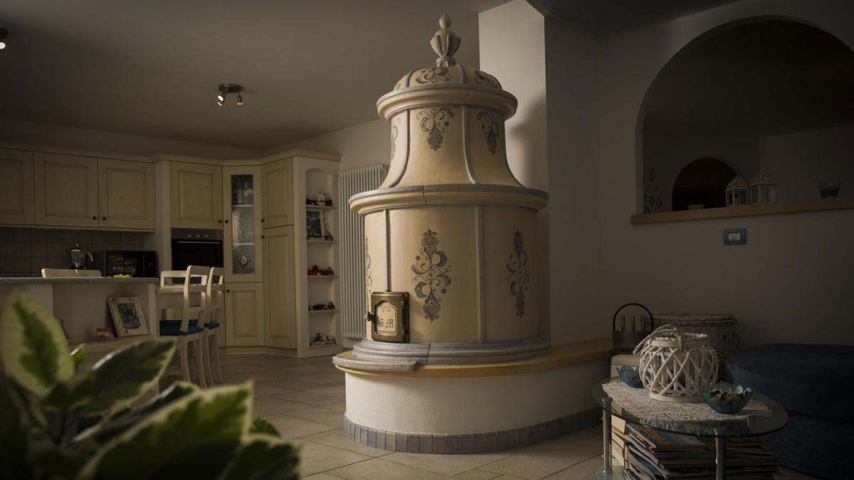 Stufe collizzolli stufe in ceramica ad ole fatte a mano uniche e
